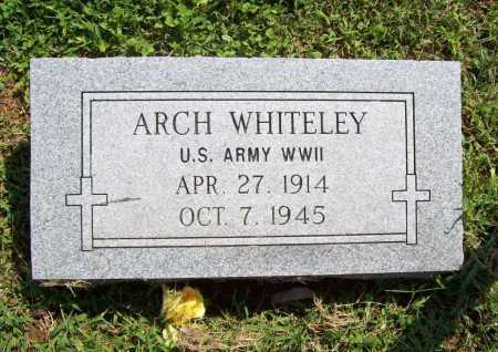 WHITELEY (VETERAN WWII), ARCH - Madison County, Arkansas | ARCH WHITELEY (VETERAN WWII) - Arkansas Gravestone Photos