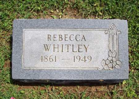 WHITLEY, REBECCA - Madison County, Arkansas | REBECCA WHITLEY - Arkansas Gravestone Photos
