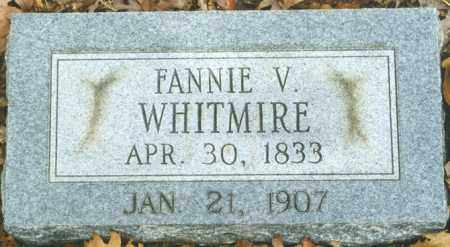 "WHITMIRE, FRANCES VICTORIA ""FANNIE"" - Madison County, Arkansas 