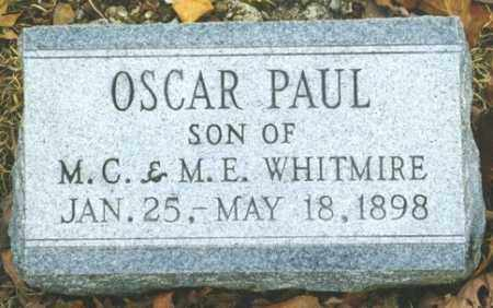 WHITMIRE, OSCAR PAUL - Madison County, Arkansas | OSCAR PAUL WHITMIRE - Arkansas Gravestone Photos