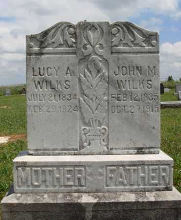 WILKS, LUCY A. - Madison County, Arkansas | LUCY A. WILKS - Arkansas Gravestone Photos