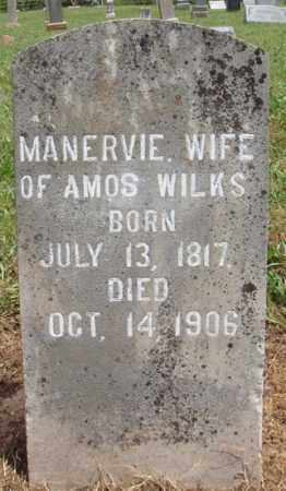 WILKS, MANERVIE - Madison County, Arkansas | MANERVIE WILKS - Arkansas Gravestone Photos