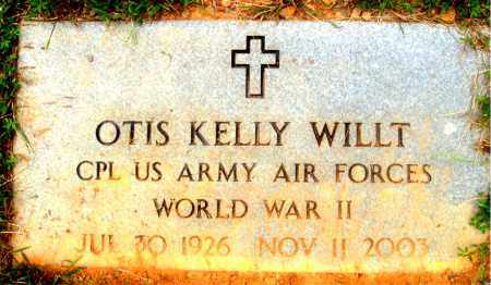 WILLT (VETERAN WWII), OTIS KELLY - Madison County, Arkansas | OTIS KELLY WILLT (VETERAN WWII) - Arkansas Gravestone Photos