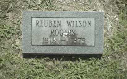 ROGERS, REUBEN WILSON - Madison County, Arkansas | REUBEN WILSON ROGERS - Arkansas Gravestone Photos