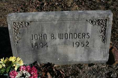 WONDERS, JOHN B. - Madison County, Arkansas | JOHN B. WONDERS - Arkansas Gravestone Photos