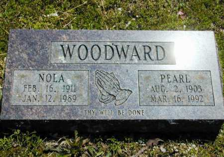 WOODWARD, NOLA - Madison County, Arkansas | NOLA WOODWARD - Arkansas Gravestone Photos