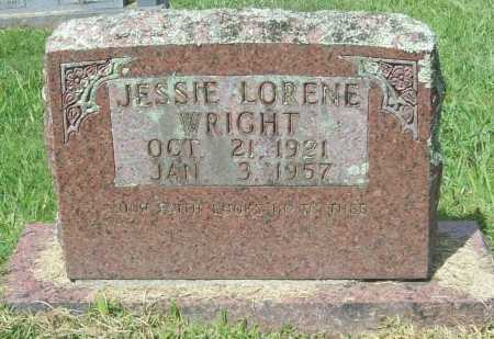WRIGHT, JESSIE LORENE - Madison County, Arkansas | JESSIE LORENE WRIGHT - Arkansas Gravestone Photos