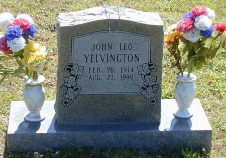 YELVINGTON, JOHN LEO - Madison County, Arkansas | JOHN LEO YELVINGTON - Arkansas Gravestone Photos