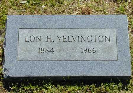 YELVINGTON, LON H. - Madison County, Arkansas | LON H. YELVINGTON - Arkansas Gravestone Photos