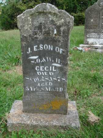 CECIL, J. E. - Madison County, Arkansas | J. E. CECIL - Arkansas Gravestone Photos