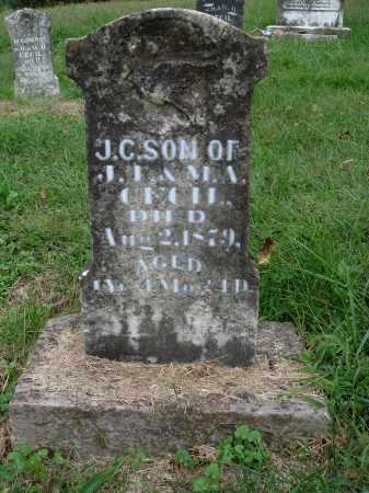 CECIL, J. C. - Madison County, Arkansas | J. C. CECIL - Arkansas Gravestone Photos