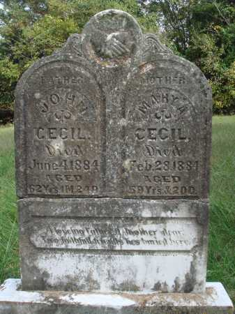 CECIL, MARY A. - Madison County, Arkansas | MARY A. CECIL - Arkansas Gravestone Photos