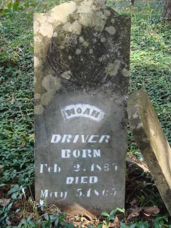 DRIVER, NOAH - Madison County, Arkansas | NOAH DRIVER - Arkansas Gravestone Photos