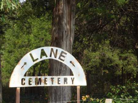 *LANE CEMETERY SIGN,  - Madison County, Arkansas |  *LANE CEMETERY SIGN - Arkansas Gravestone Photos
