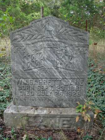 LANE, WILLIAM GARRETT - Madison County, Arkansas | WILLIAM GARRETT LANE - Arkansas Gravestone Photos
