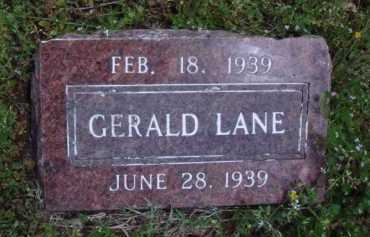 LANE, GERALD - Madison County, Arkansas | GERALD LANE - Arkansas Gravestone Photos