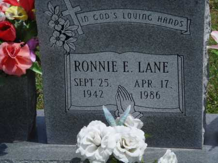 "LANE, RONALD EDWARD ""RONNIE"" - Madison County, Arkansas 