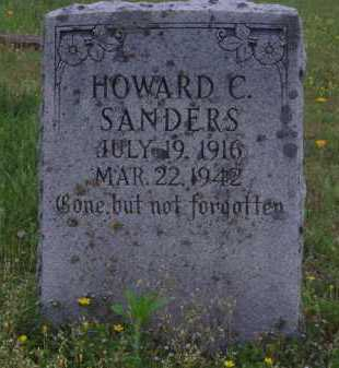 SANDERS, HOWARD C. - Madison County, Arkansas | HOWARD C. SANDERS - Arkansas Gravestone Photos
