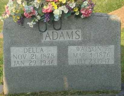 ADAMS, WATSON P - Marion County, Arkansas | WATSON P ADAMS - Arkansas Gravestone Photos
