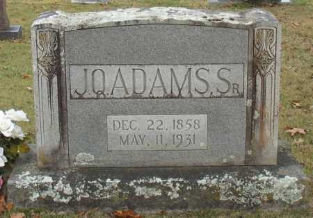 ADAMS, J. Q. SR - Marion County, Arkansas | J. Q. SR ADAMS - Arkansas Gravestone Photos