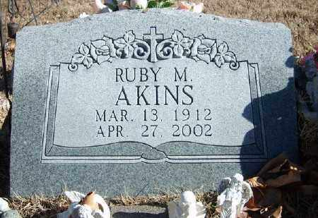 AKINS, RUBY M. - Marion County, Arkansas | RUBY M. AKINS - Arkansas Gravestone Photos