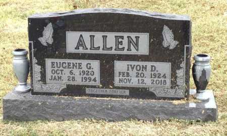 ALLEN, EUGENE G. - Marion County, Arkansas | EUGENE G. ALLEN - Arkansas Gravestone Photos