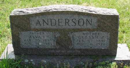 JENKINS ANDERSON, GLESSIE P. - Marion County, Arkansas | GLESSIE P. JENKINS ANDERSON - Arkansas Gravestone Photos