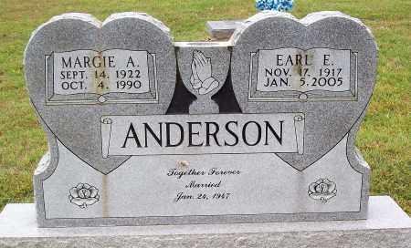 ANDERSON, EARL E. - Marion County, Arkansas | EARL E. ANDERSON - Arkansas Gravestone Photos