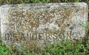 ANDERSON, INFANT - Marion County, Arkansas   INFANT ANDERSON - Arkansas Gravestone Photos