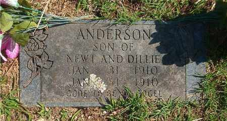 ANDERSON, INFANT SON - Marion County, Arkansas | INFANT SON ANDERSON - Arkansas Gravestone Photos