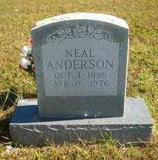 ANDERSON, NEAL - Marion County, Arkansas | NEAL ANDERSON - Arkansas Gravestone Photos