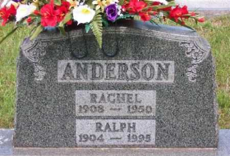SCHULTZ ANDERSON, RACHEL - Marion County, Arkansas | RACHEL SCHULTZ ANDERSON - Arkansas Gravestone Photos