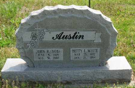 WHITE AUSTIN, BETTY L. - Marion County, Arkansas | BETTY L. WHITE AUSTIN - Arkansas Gravestone Photos