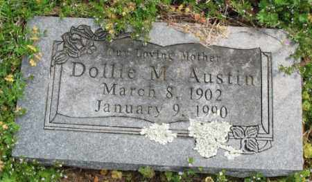 AUSTIN, DOLLIE M. - Marion County, Arkansas | DOLLIE M. AUSTIN - Arkansas Gravestone Photos