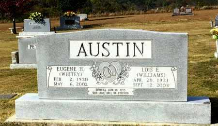 WILLIAMS AUSTIN, LOIS E. - Marion County, Arkansas | LOIS E. WILLIAMS AUSTIN - Arkansas Gravestone Photos
