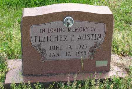 AUSTIN, FLETCHER F. - Marion County, Arkansas | FLETCHER F. AUSTIN - Arkansas Gravestone Photos