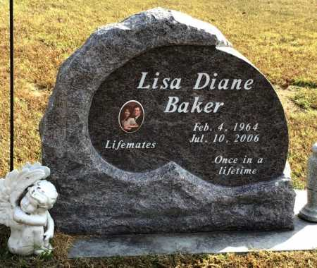 BAKER, LISA DIANE - Marion County, Arkansas | LISA DIANE BAKER - Arkansas Gravestone Photos