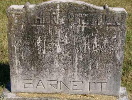 "BARNETT, ELY ALEXANDER ""ALEX"" - Marion County, Arkansas | ELY ALEXANDER ""ALEX"" BARNETT - Arkansas Gravestone Photos"