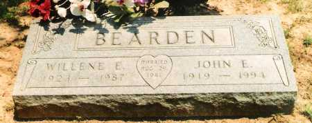 BEARDEN, WILLENE E. - Marion County, Arkansas | WILLENE E. BEARDEN - Arkansas Gravestone Photos