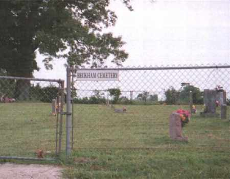 *BECKHAM CEMETERY GATE,  - Marion County, Arkansas |  *BECKHAM CEMETERY GATE - Arkansas Gravestone Photos