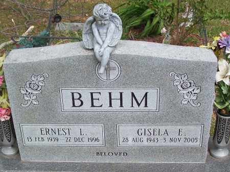 BEHM, GISELA E. - Marion County, Arkansas | GISELA E. BEHM - Arkansas Gravestone Photos