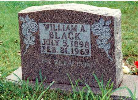BLACK, WILLIAM AUSTIN - Marion County, Arkansas | WILLIAM AUSTIN BLACK - Arkansas Gravestone Photos