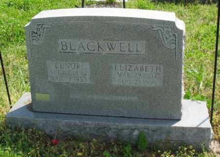 BLACKWELL, ELNOR - Marion County, Arkansas | ELNOR BLACKWELL - Arkansas Gravestone Photos