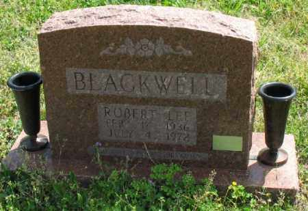BLACKWELL, ROBERT LEE - Marion County, Arkansas | ROBERT LEE BLACKWELL - Arkansas Gravestone Photos