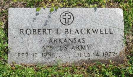 BLACKWELL (VETERAN), ROBERT L - Marion County, Arkansas | ROBERT L BLACKWELL (VETERAN) - Arkansas Gravestone Photos
