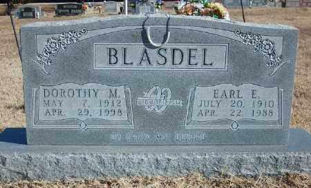 BLASDEL, EARL E. - Marion County, Arkansas | EARL E. BLASDEL - Arkansas Gravestone Photos