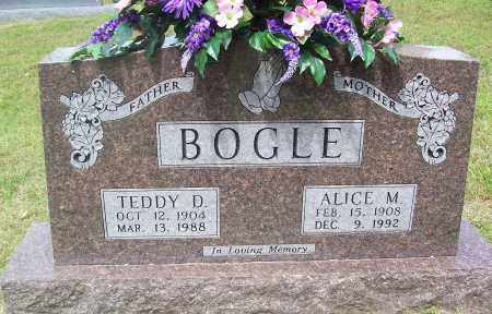 BOGLE, ALICE M. - Marion County, Arkansas | ALICE M. BOGLE - Arkansas Gravestone Photos