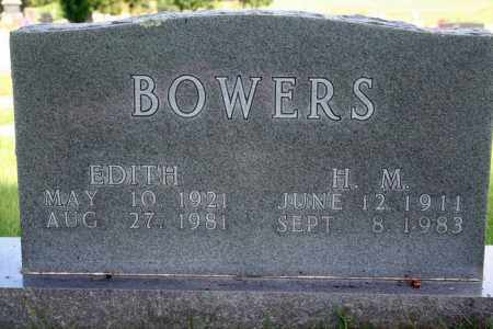 BOWERS, EDITH - Marion County, Arkansas | EDITH BOWERS - Arkansas Gravestone Photos