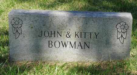 WOOD BOWMAN, KITTY - Marion County, Arkansas | KITTY WOOD BOWMAN - Arkansas Gravestone Photos