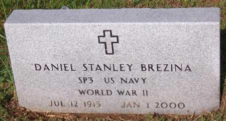 BREZINA (VETERAN WWII), DANIEL STANLEY - Marion County, Arkansas | DANIEL STANLEY BREZINA (VETERAN WWII) - Arkansas Gravestone Photos